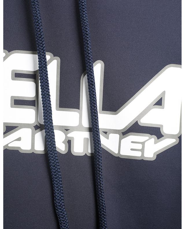 Sweat-shirt à capuche boxy imprimé Scuba Logo STELLA MCCARTNEY