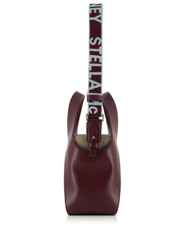 Sac porté croisé bicolore en cuir synthétique Stella Logo STELLA MCCARTNEY