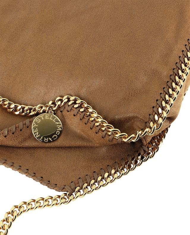 Petit sac cabas en daim synthétique détails dorés Falabella STELLA MCCARTNEY