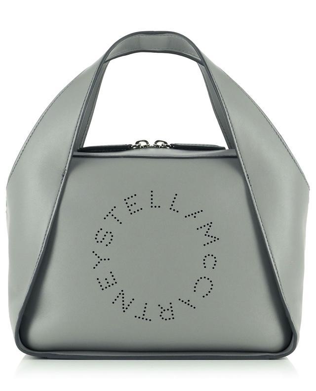 Sac à main en cuir synthétique Stella Logo Medium STELLA MCCARTNEY