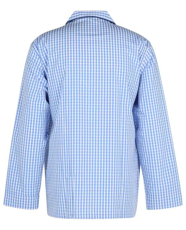 Pyjama en coton à carreaux vichy Venezia ROBERTO RICETTI