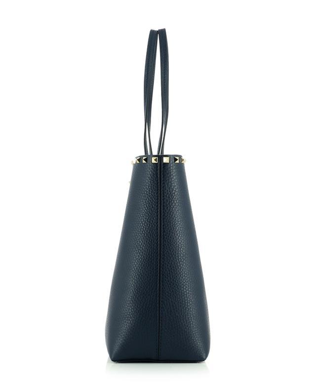 Grand sac cabas en cuir grainé Rockstud VALENTINO