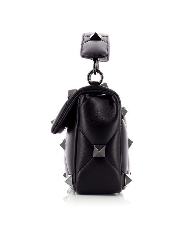 Sac porté épaule en cuir nappa Medium Roman Stud The Shoulder Bag VALENTINO