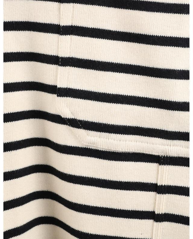 Mini robe marinière en jersey monogrammée VICTORIA VICTORIA BECKHAM