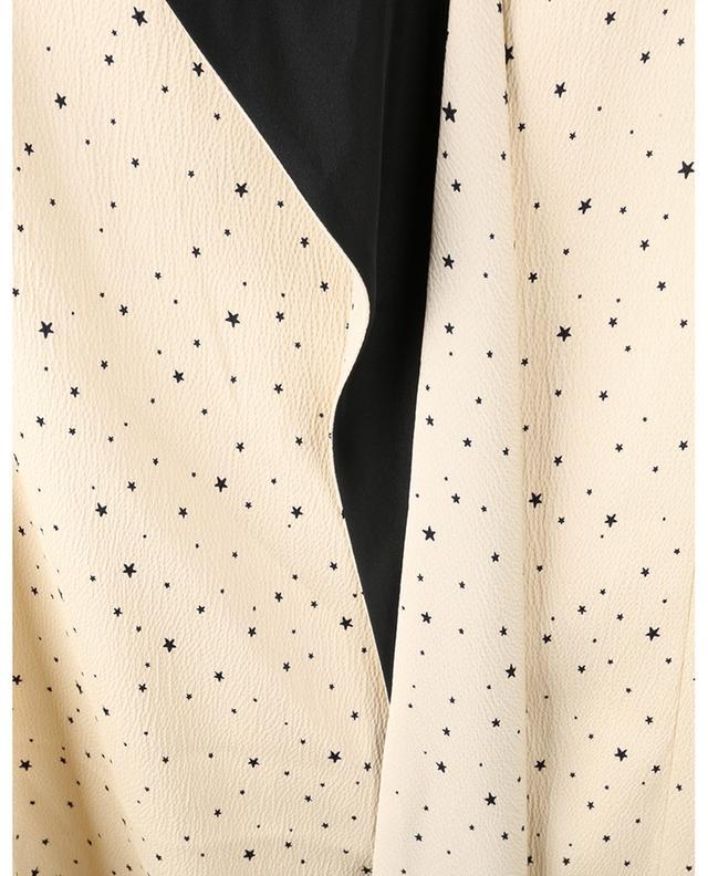 Mini robe en satin martelé imprimée Star VICTORIA VICTORIA BECKHAM