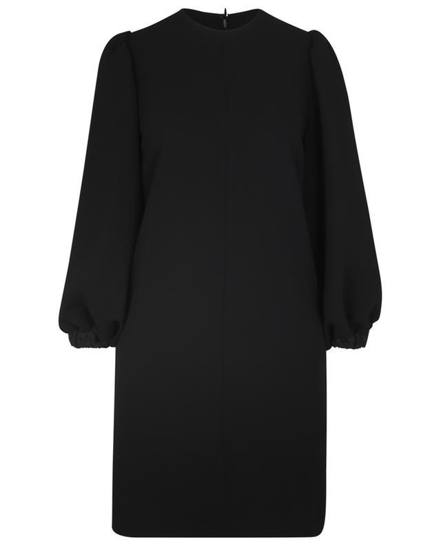Mini robe droite en crêpe à manches bouffantes VICTORIA VICTORIA BECKHAM