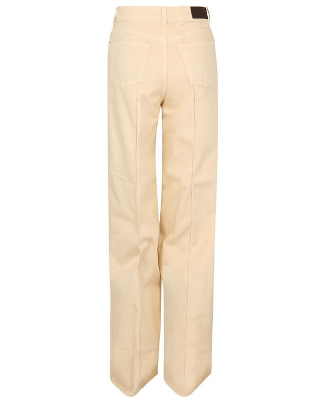 Jean large taille haute en Ivory VICTORIA VICTORIA BECKHAM