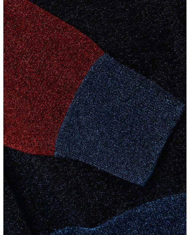 Pull fin colour block en lurex VICTORIA BECKHAM