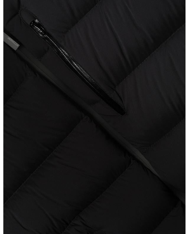 Doudoune courte cintrée en nylon mat Herbe MONCLER