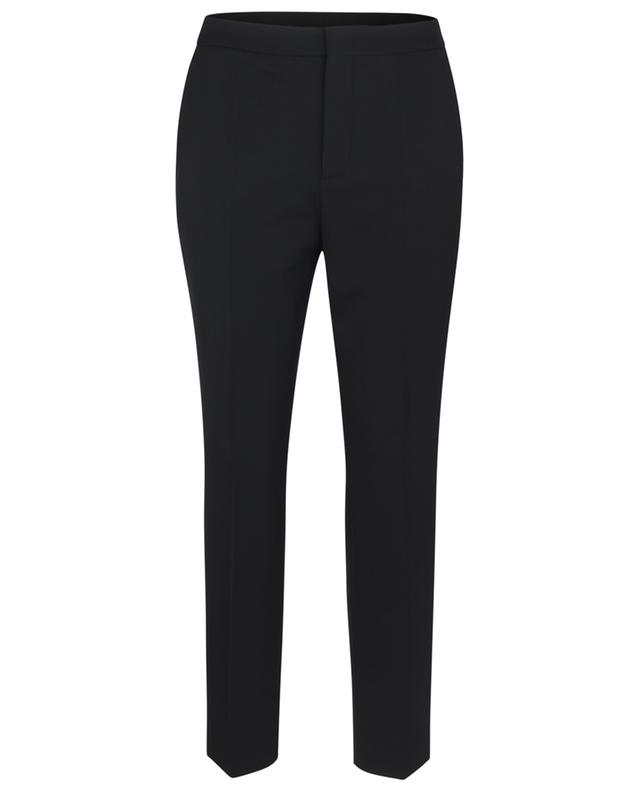 Pantalon raccourci en sergé taille logo MONCLER