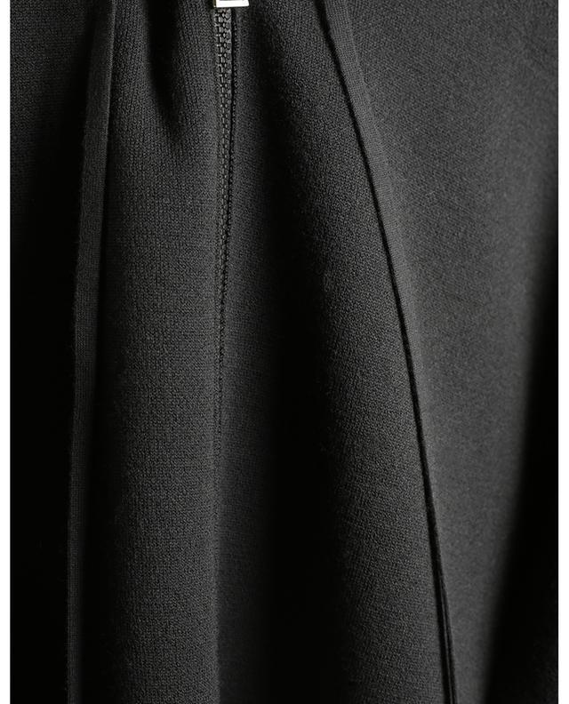 Cardigan boxy à capuche en laine MONCLER