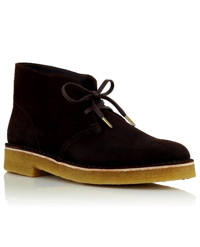 Bottines à lacets en cuir effet vieilli Desert Boot221 CLARKS ORIGINALS