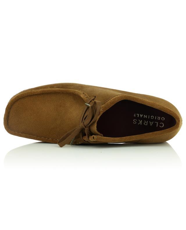 Chaussures à lacets en daim Walabee Cola CLARKS ORIGINALS