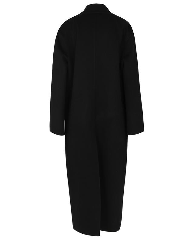 Manteau long à boutonnage simple en laine ERMANNO SCERVINO