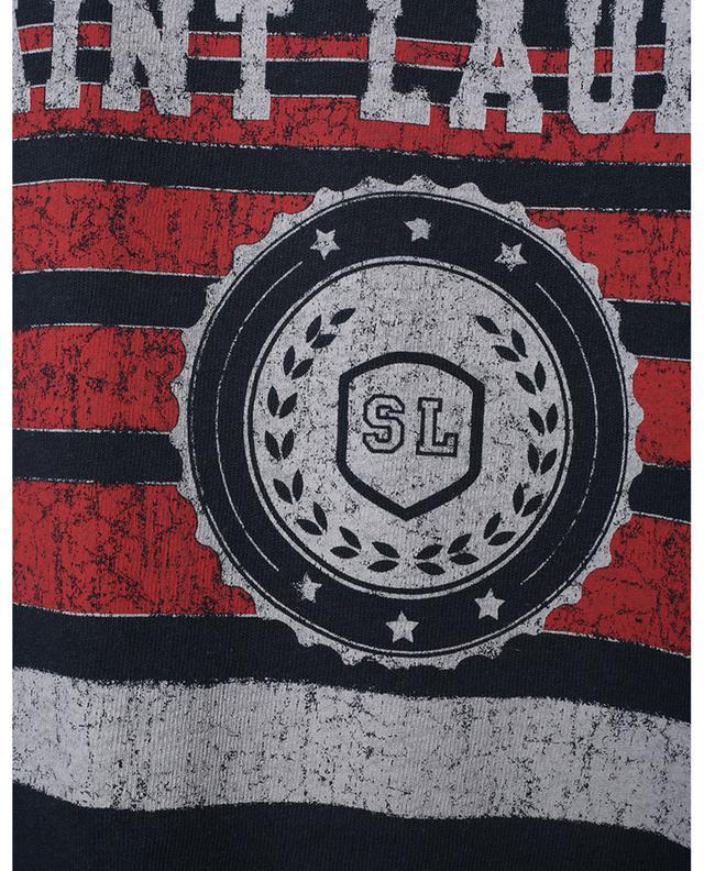 T-Shirt vieilli imprimé Saint Laurent League SAINT LAURENT PARIS