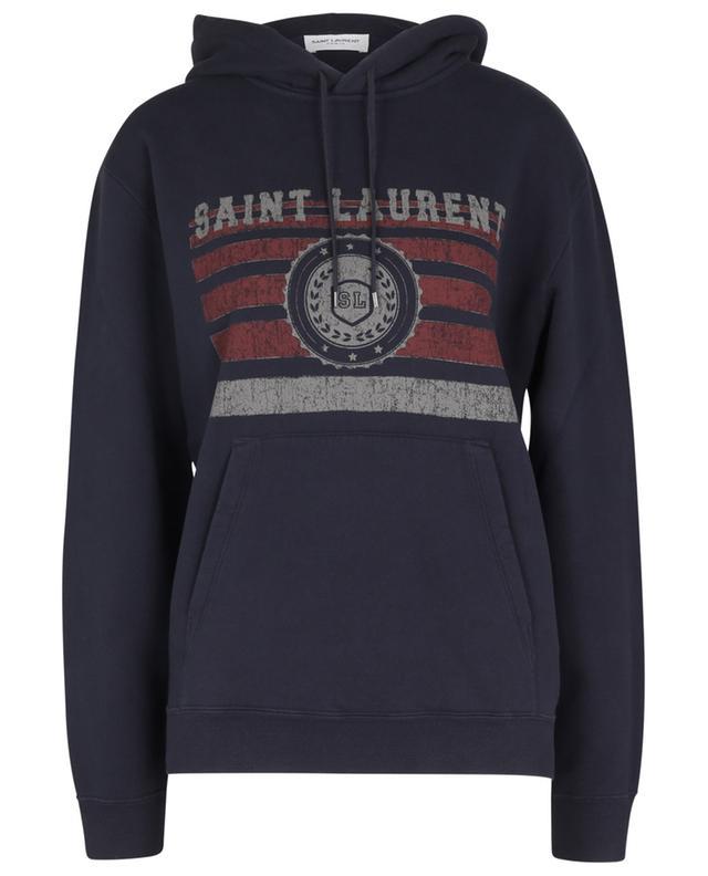 Sweat-shirt à capuche vieilli Saint Laurent League SAINT LAURENT PARIS