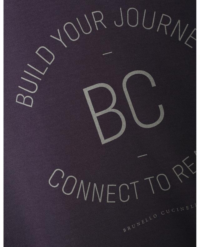 T-shirt slim à manches courtes Build Your Journey BRUNELLO CUCINELLI