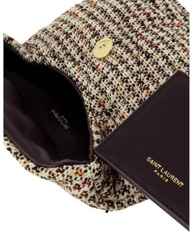Petite pochette en tweed matelassé Puffer Small SAINT LAURENT PARIS