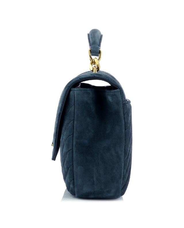 Handtasche aus gestepptem Wildleder College Medium SAINT LAURENT PARIS