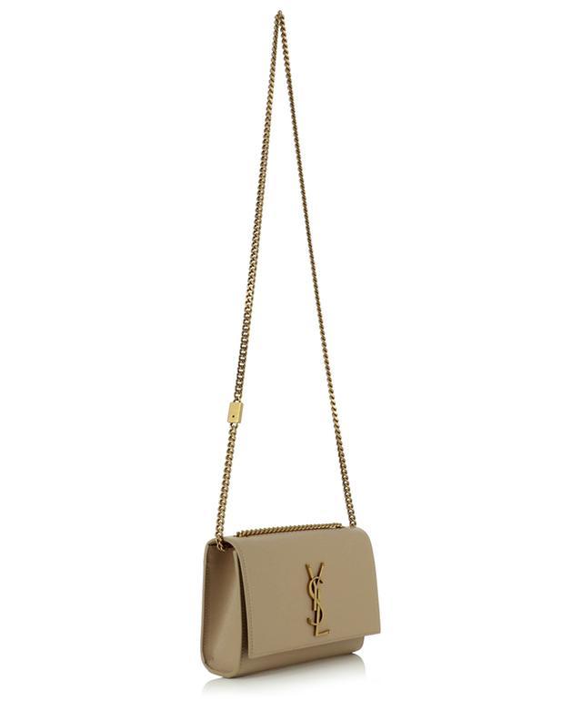 Sac porté épaule en cuir texturé grain de poudre Kate Small SAINT LAURENT PARIS