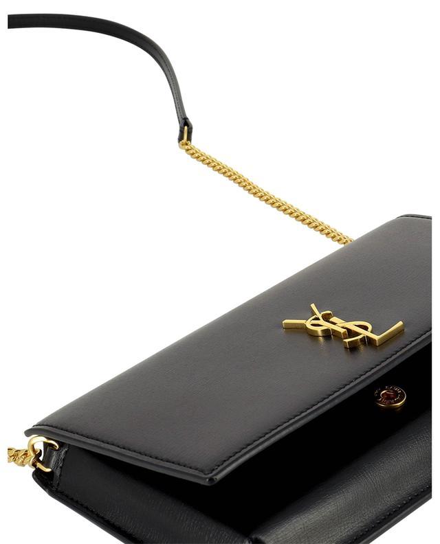 Pochette pour smartphone en cuir Monogram SAINT LAURENT PARIS