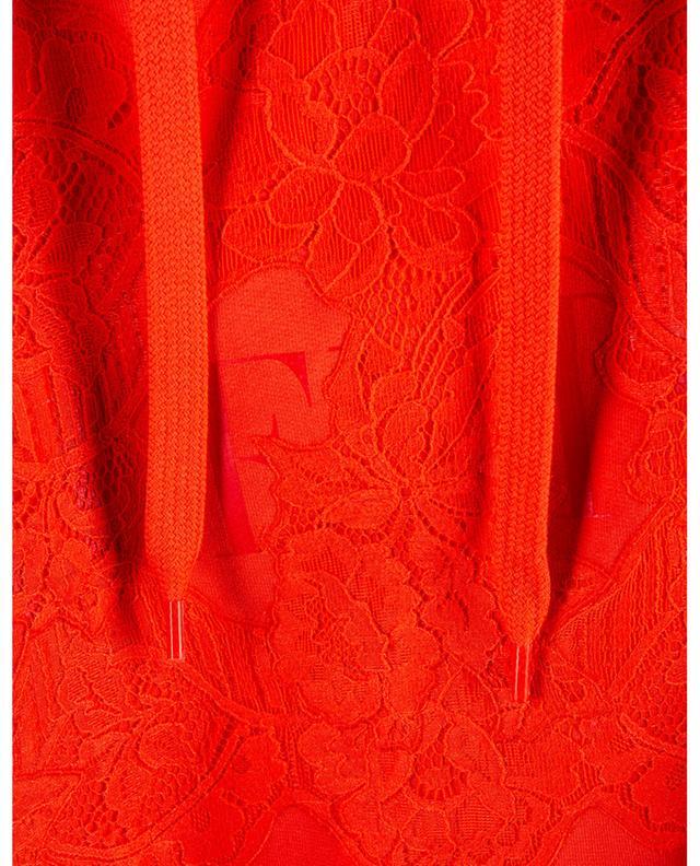 Sweat-shirt oversize à capuche avec dentelle Valentino VALENTINO