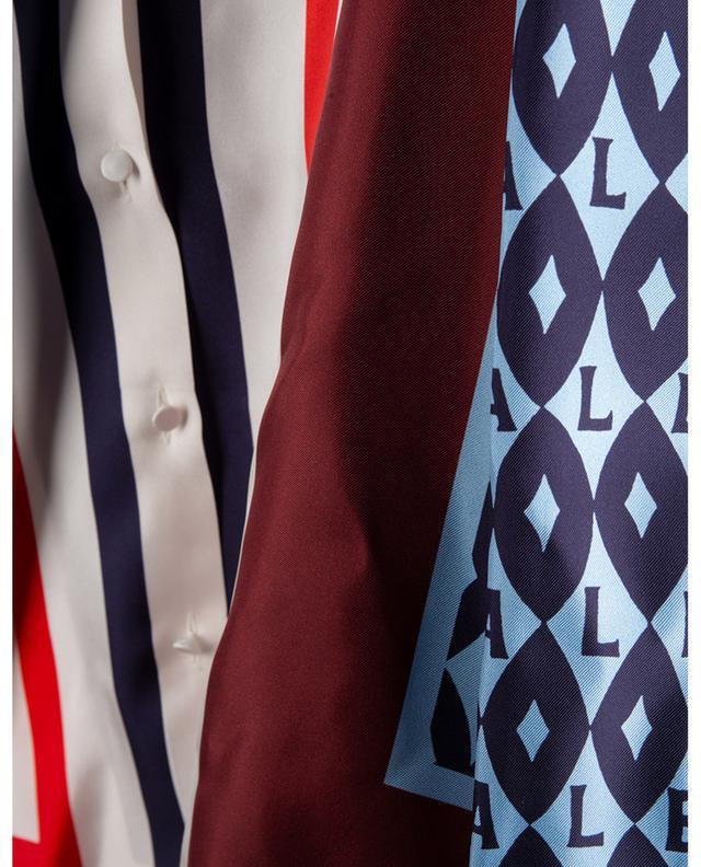 Chemise ample en sergé de soie imprimé Valentino Foulard Archive VALENTINO