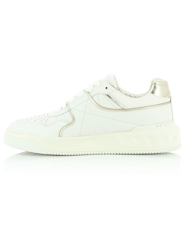 Baskets basses à lacets en cuir nappa One Stud VALENTINO