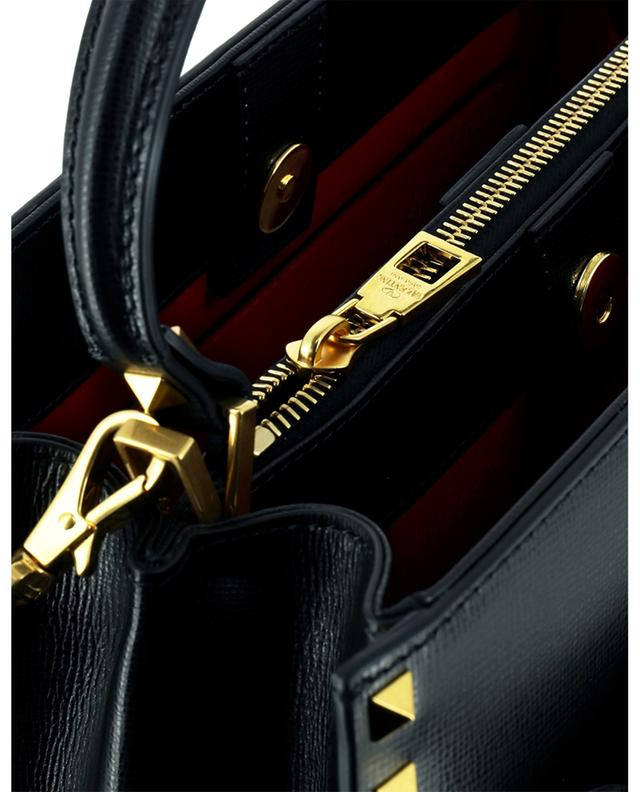 Grand sac à main en cuir grainé Rockstud Alcove VALENTINO