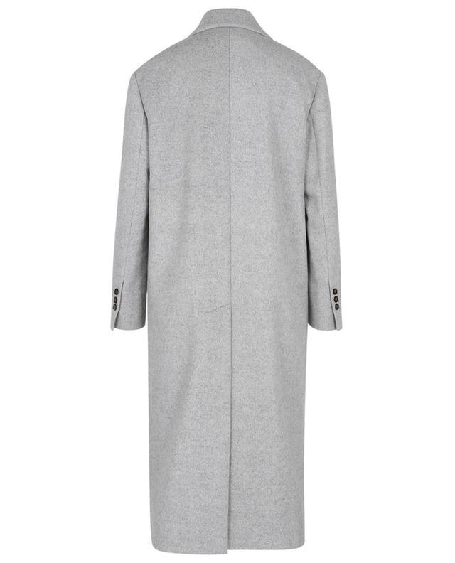Manteau à double boutonnage en laine et cachemire à Monile BRUNELLO CUCINELLI