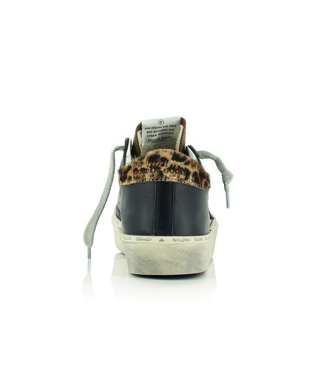 Baskets plateau détail léopard Hi Star GOLDEN GOOSE