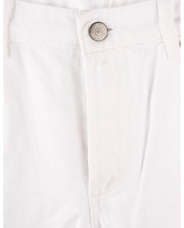 Jean droit effiloché The Tommy Vintage White BOYISH