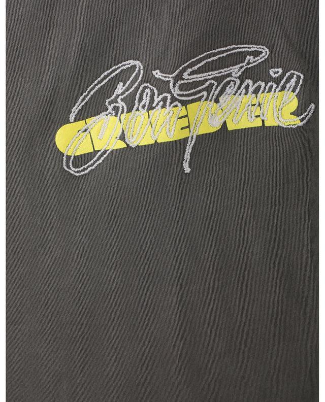 T-shirt homme à col rond en coton bio BonGénie GRIEDER AMERICAN VINTAGE
