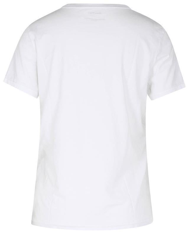 T-shirt femme à col rond en coton bio BonGénie GRIEDER AMERICAN VINTAGE