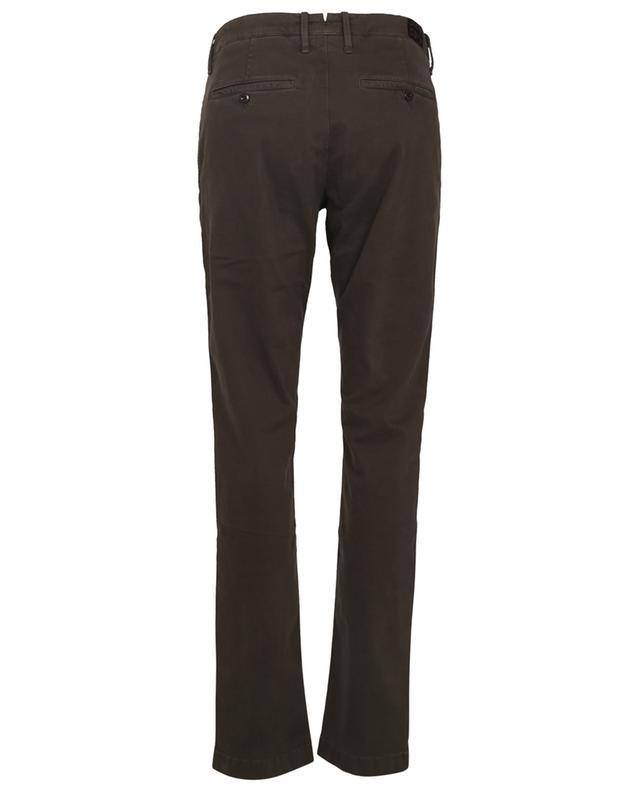 Pantalon chino slim en coton stretch Bobby JACOB COHEN