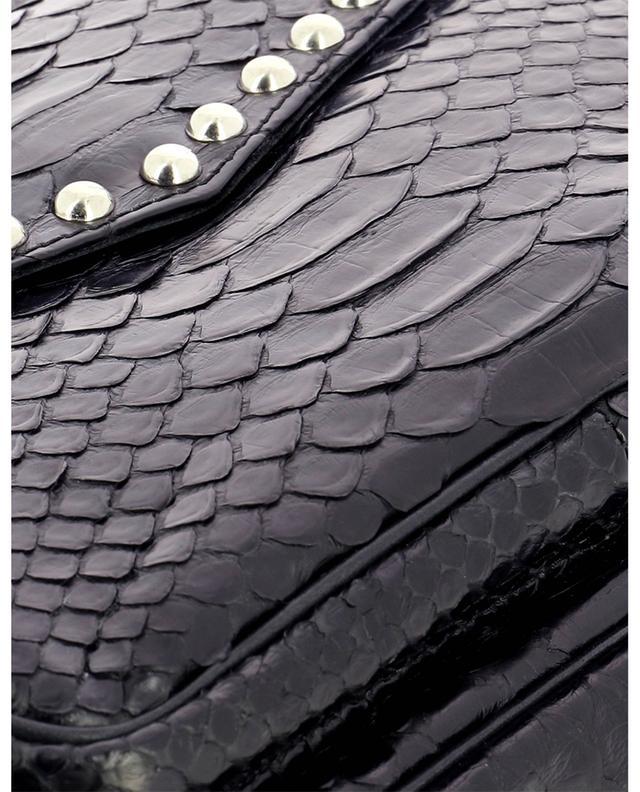 Sac porté épaule en cuir de python Big Charly CLARIS VIROT