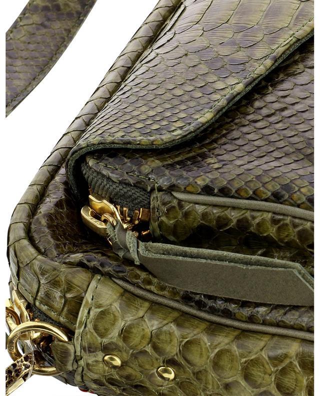 Sac porté croisé en cuir de python Charly CLARIS VIROT