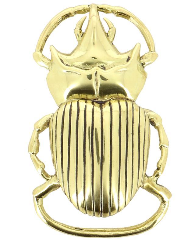 Boucle de ceinture dorée Scarabée CLARIS VIROT