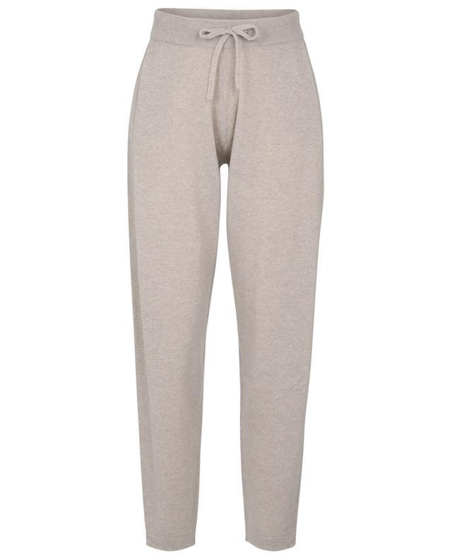 Pantalon de jogging fuselé en cachemire Jo LISA YANG