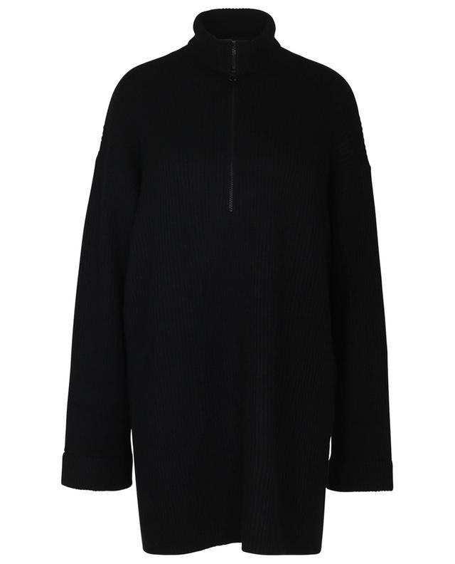 Robe pull en cachemire à col montant Aubree LISA YANG