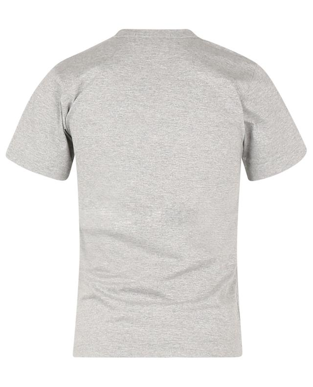 T-shirt ajusté en jersey patch coeur noir COMME DES GARCONS PLAY