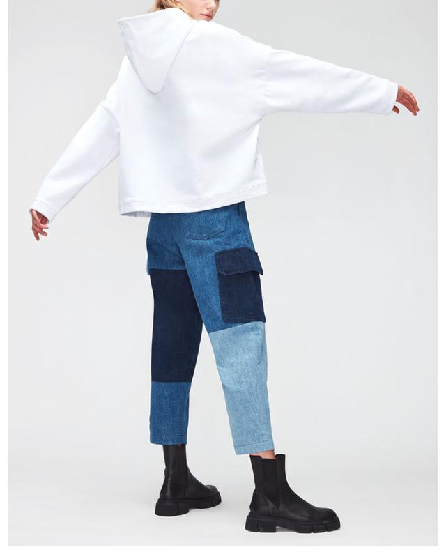 Sweat-shirt à capuche ample imprimé reM'Ade x 7FAM 7 FOR ALL MANKIND