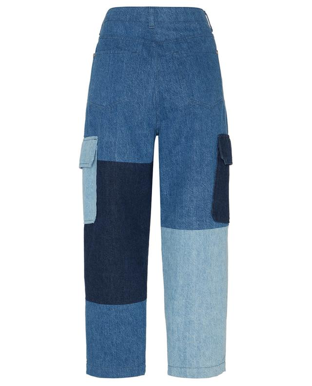 Pantalon cargo dans un patchwork de denim reM'Ade x 7FAM 7 FOR ALL MANKIND