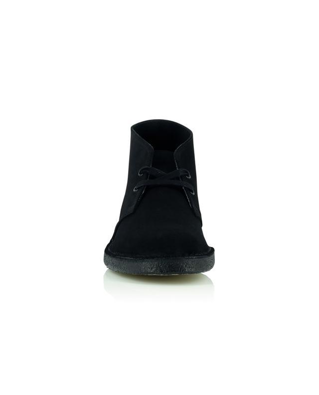 Bottines à lacets en daim Desert Boot Black Suede CLARKS ORIGINALS