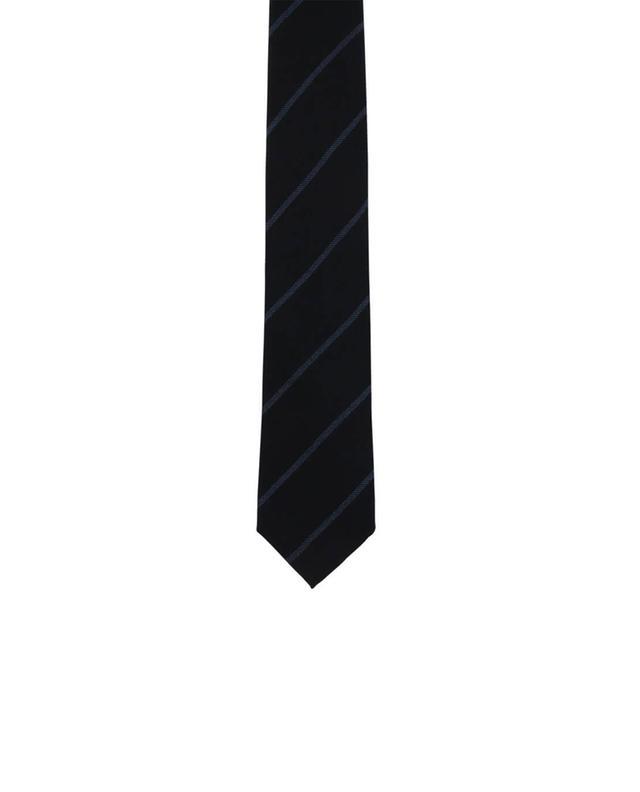 Cravate rayée en cachemire ERMENEGILDO ZEGNA
