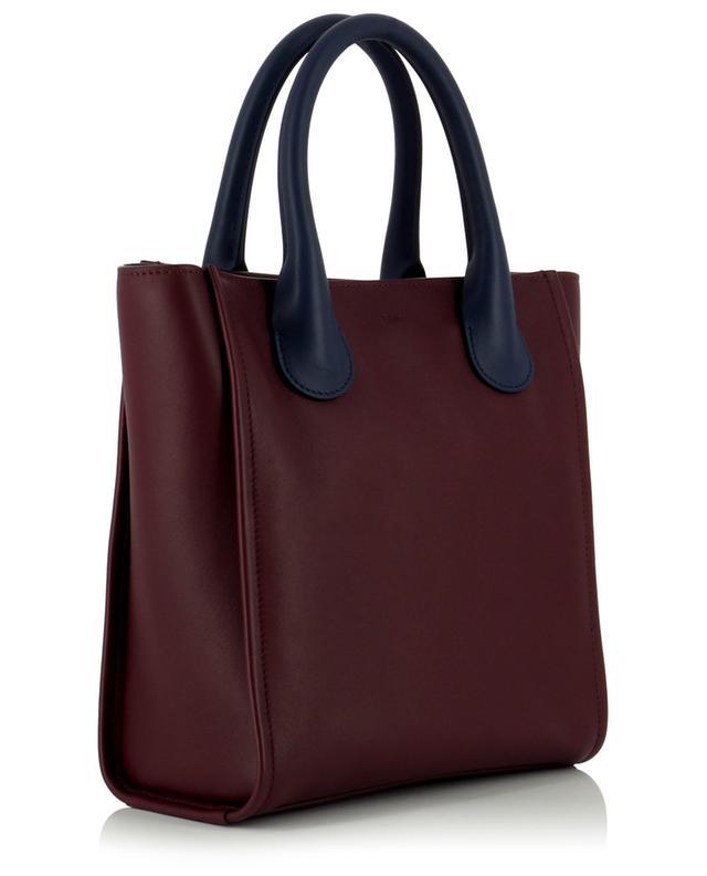 Petit sac cabas en cuir bicolore Joyce CHLOE