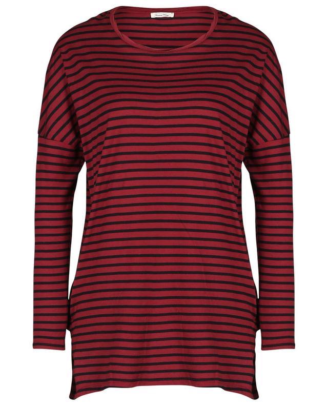 T-shirt rayé à manches longues Tinibay AMERICAN VINTAGE