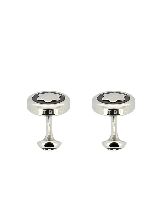 Montblanc heritage cuff links black a22490