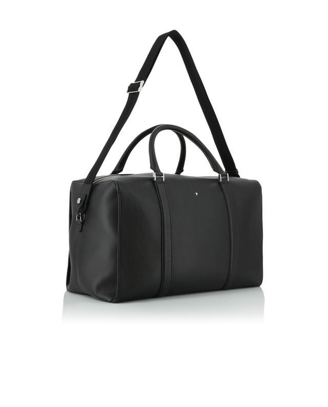 Montblanc sac de voyage en cuir meisterstück soft grain petit modèle noir