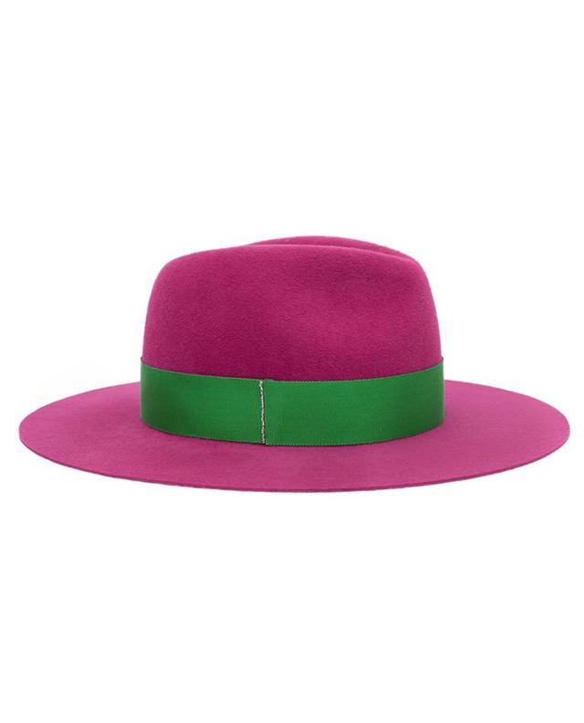 Chapeau Fédora en feutre Colour Up BY VANJA JOCIC